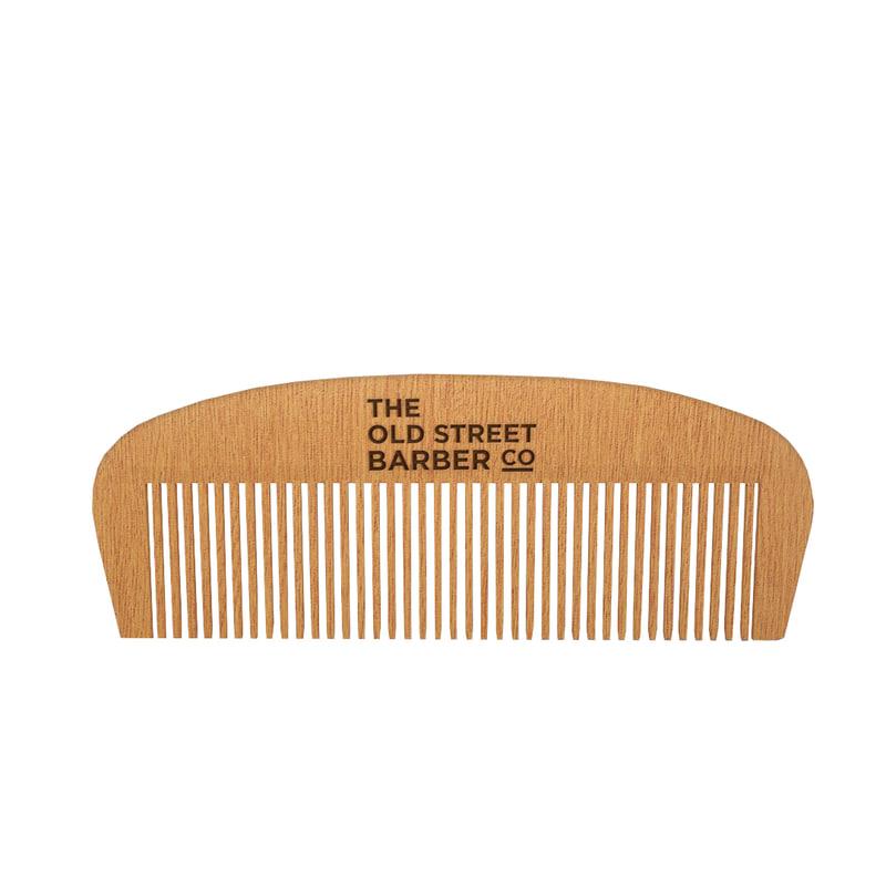 3d model old wooden comb wood