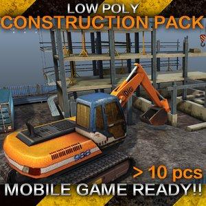 construction - 3d model