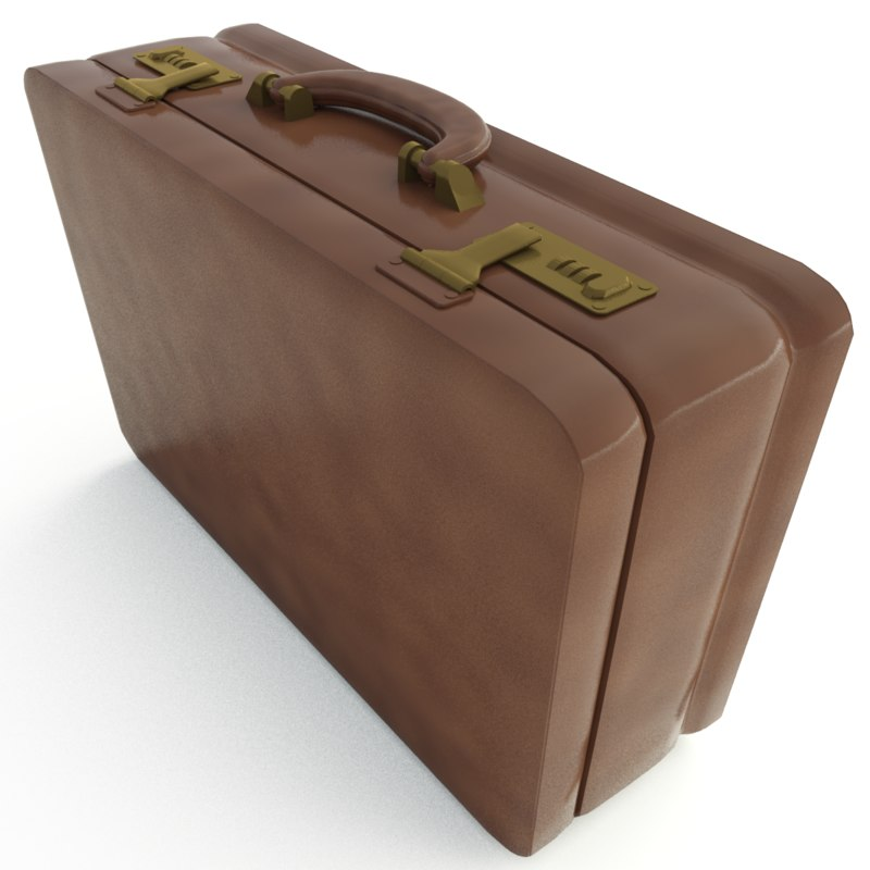 professional briefcase 3d model