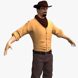 weaponless cowboy 3d 3ds