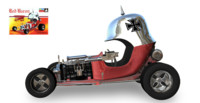 plastic kit car 3d fbx