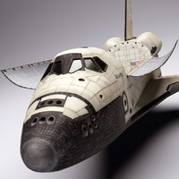 Space Shuttle (High Poly)