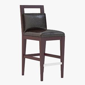 barstool bar chair 3d 3ds