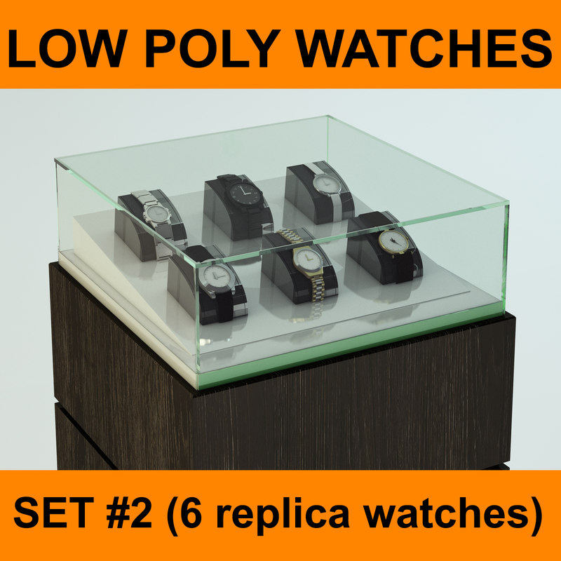 3d replica watches set ready