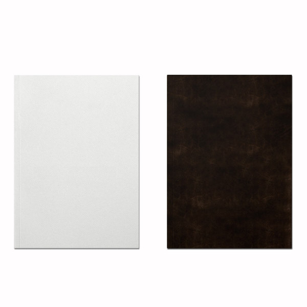 white brown leather leaflet 3ds