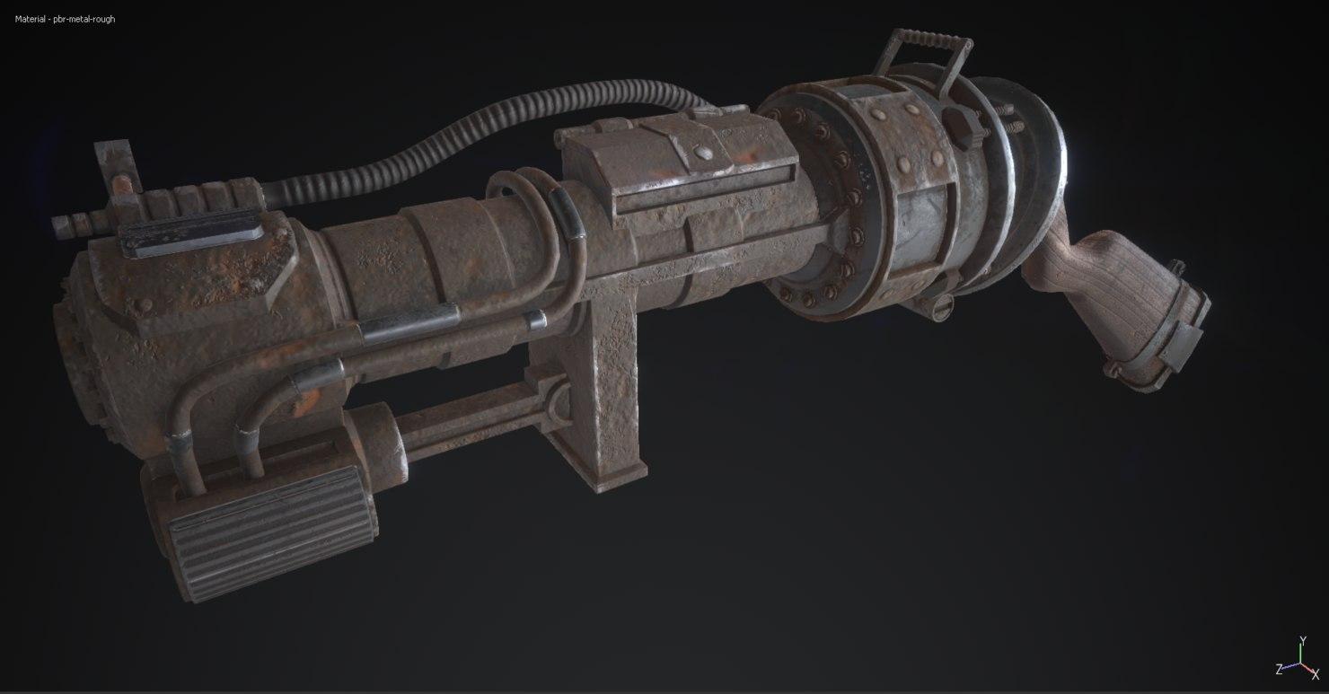 gun fbx