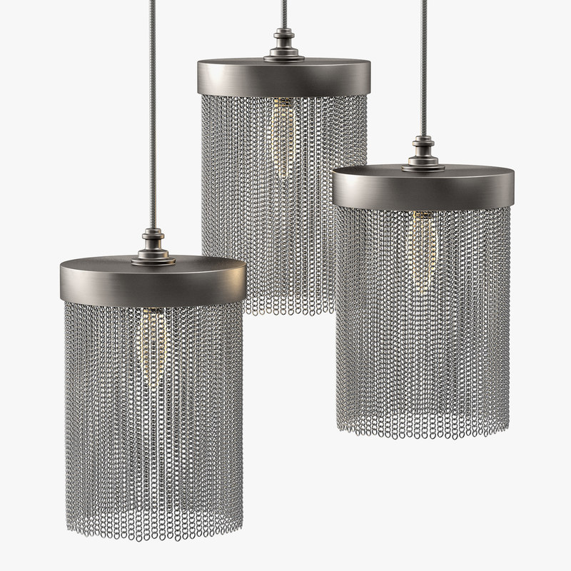 tigermoth lighting - silver 3d model