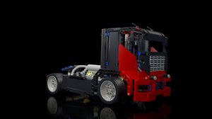 lego race truck 8041 3ds