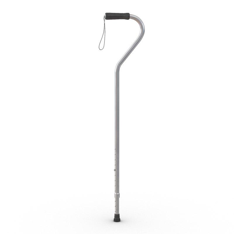3d offset cane