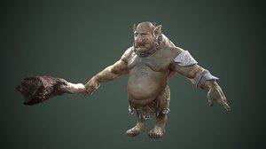 trolls games 3d model