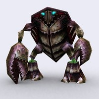 warbeasts monsters squad - 3d 3ds