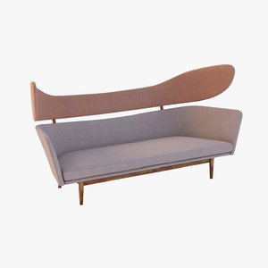 modern organic aysha 3d model