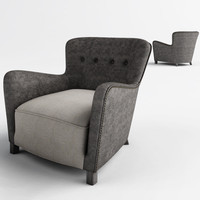 3d savona arm chair model