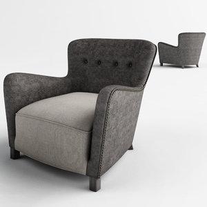 3d savona arm chair model