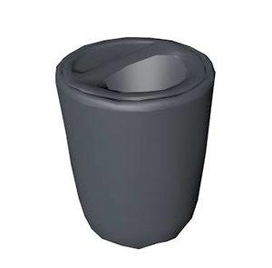 3d trash bin model