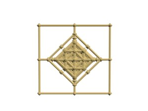 3d model of artistic decoration
