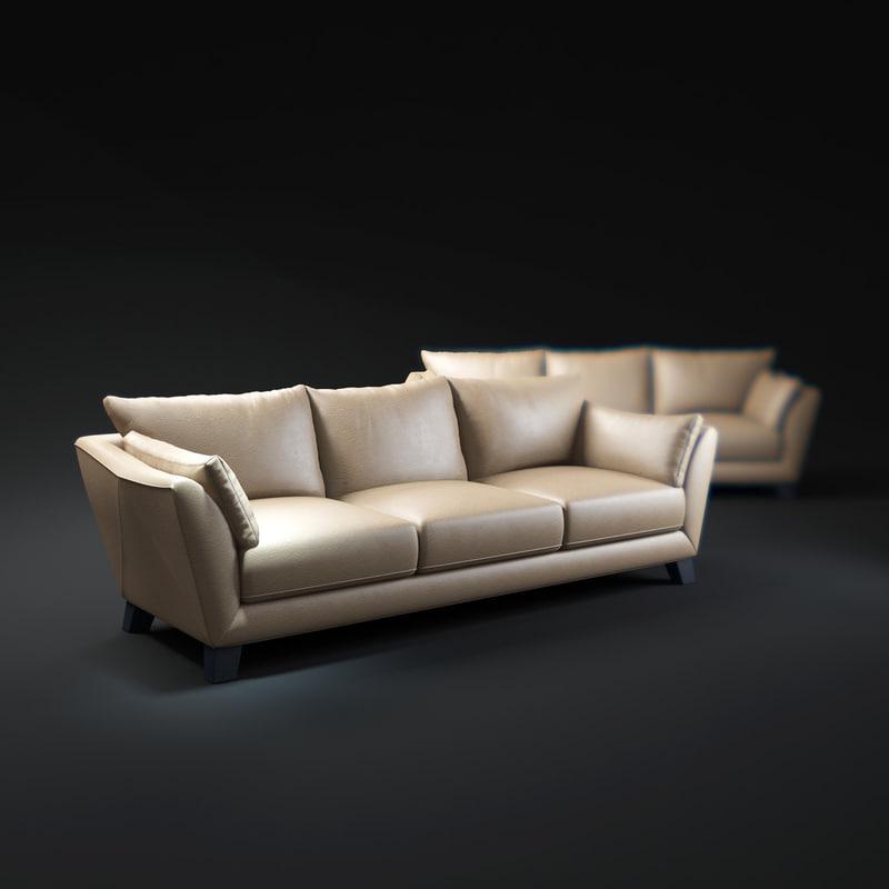 chateaux-d ax-sofa 3d max