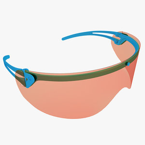 medical safety glasses 3d max