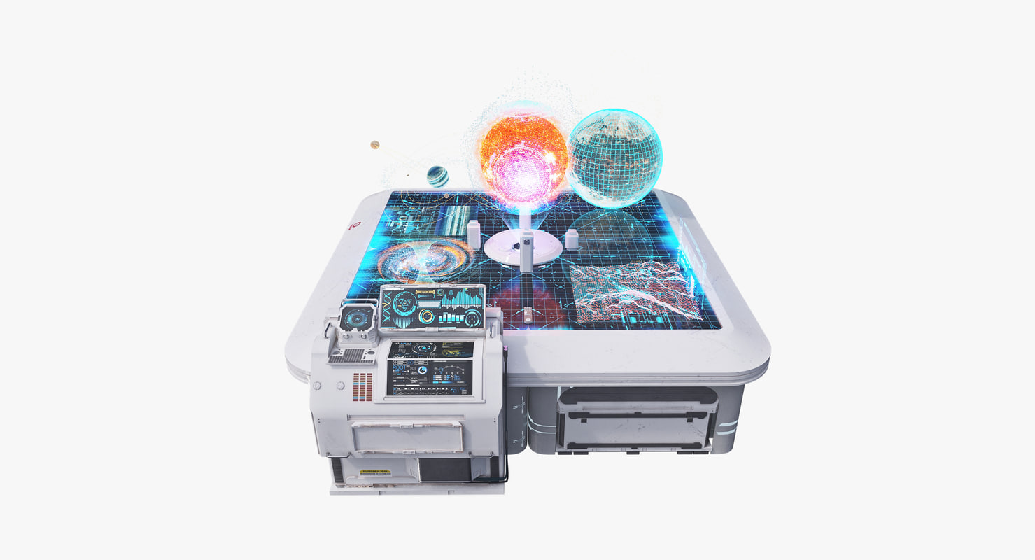 table 2 holograms 3d model