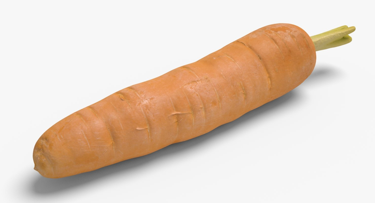 3d carrot ready unreal