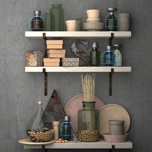 decorative set vintage modern kitchen max