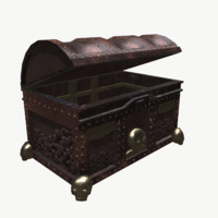 treasure chest 3d max
