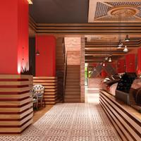 Cafe Interior 06