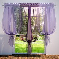 curtains blinds 3d 3ds
