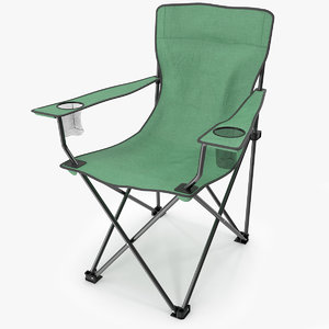 chair camping 3d model