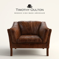 REGGIO HIGH BACK ARMCHAIR, Timothy Oulton