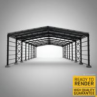 steel strucure 3d model