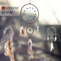 3d model dreamcatcher dream catcher