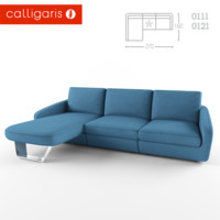 calligaris alyon 3d model