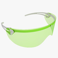 Medical Safety Glasses 1 Green