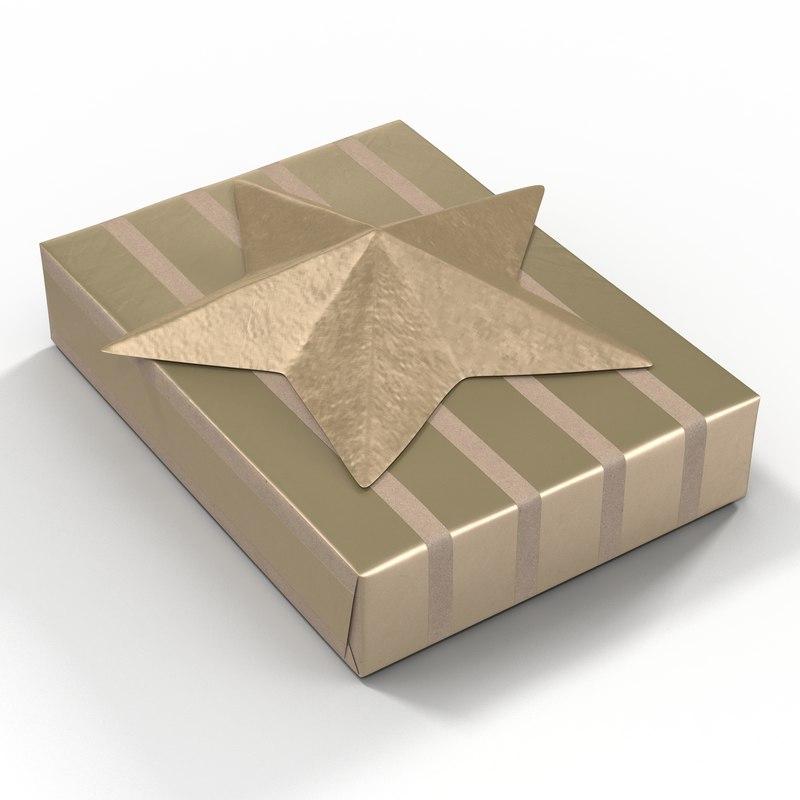 3d present 3 model