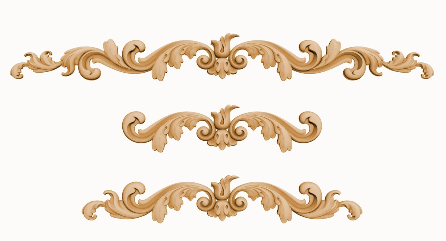 decor carving 3d max