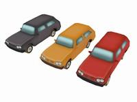 car games 3 3d model