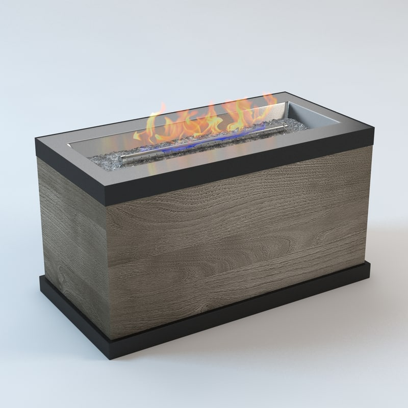 3d light modern furniture model