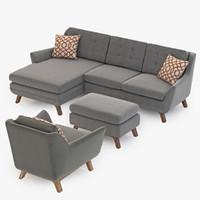 Joybird Eastwood Sofa set