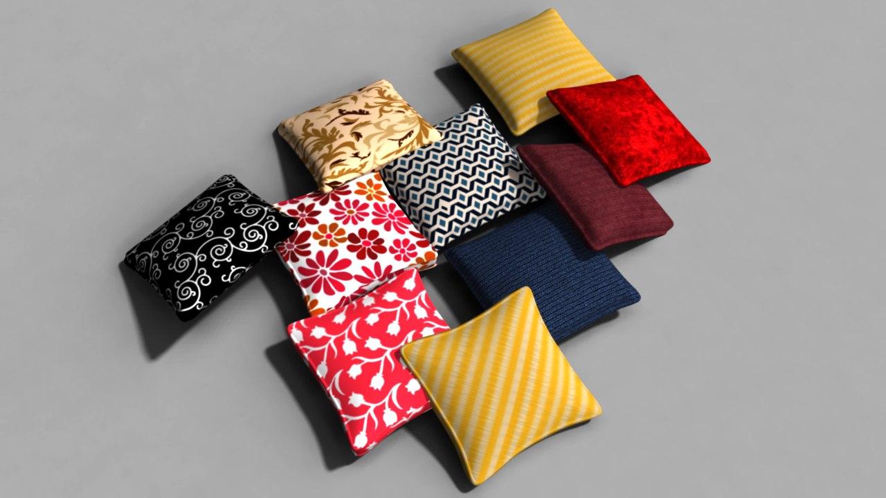 obj pillow pack
