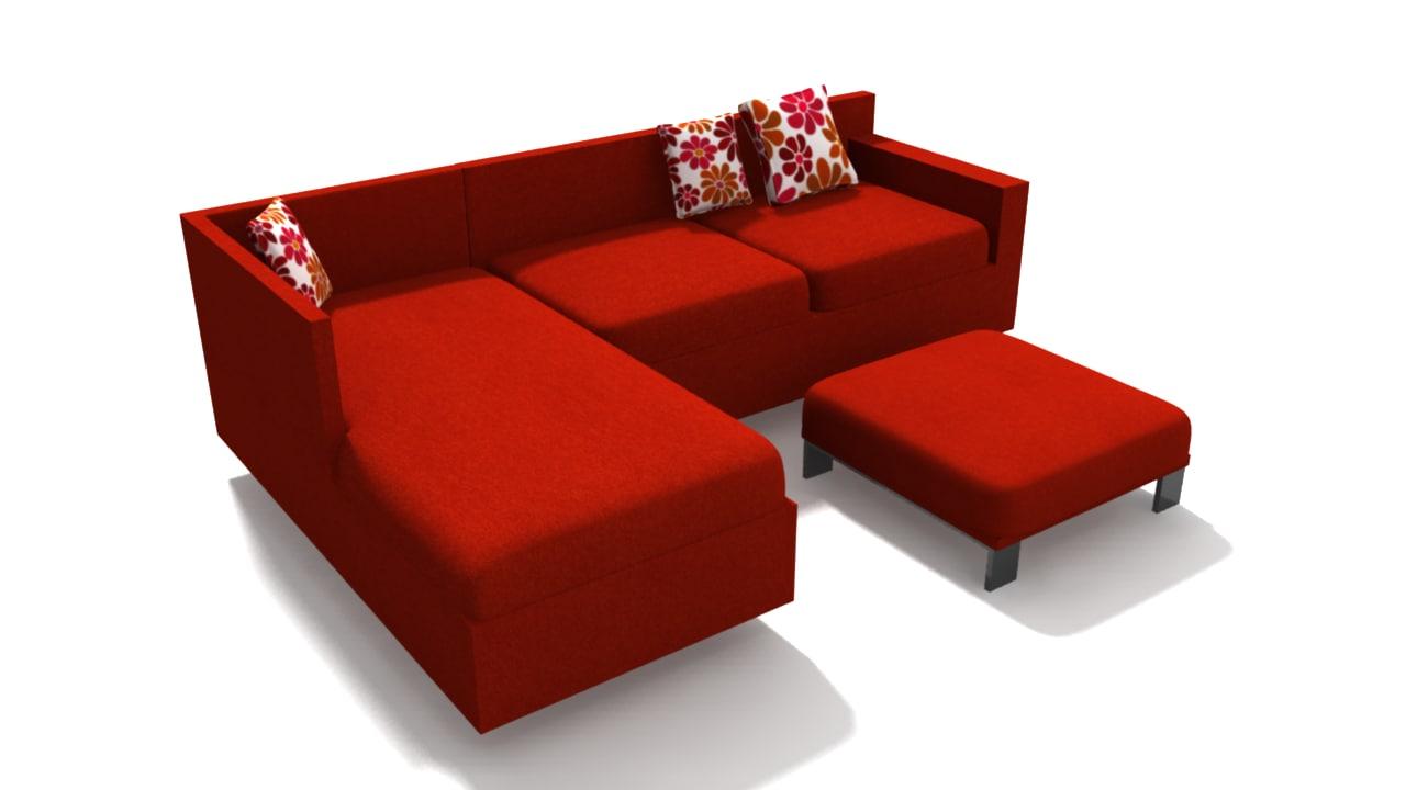 sofa set obj