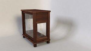 mini-armory arrmoire meuble 3d c4d