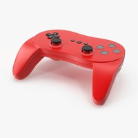 red video controller 3d max