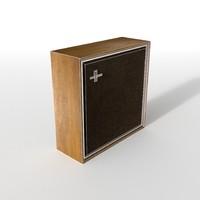 hi fi speaker box vintage