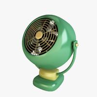 free c4d mode vintage fan vornado sr