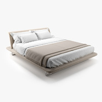3d max siena bed b italia