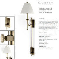 currey company wall light 3d model