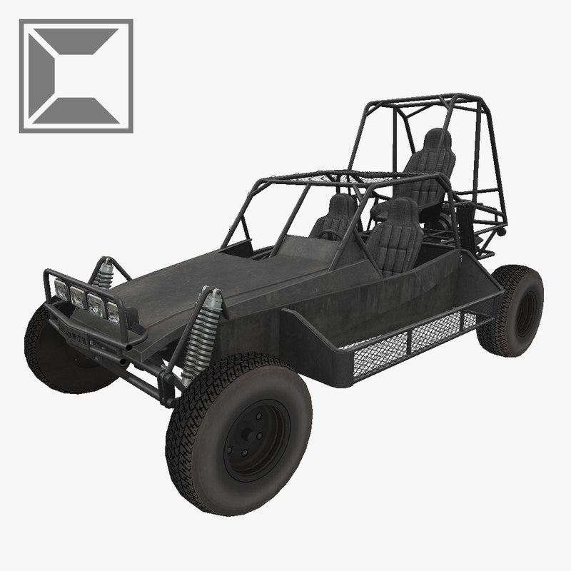 3d model dpv desert patrol vehicle