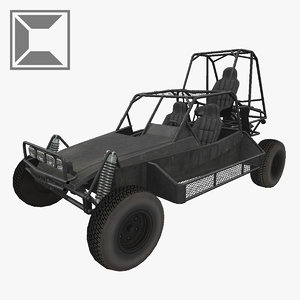 3d model dpv desert patrol vehicle