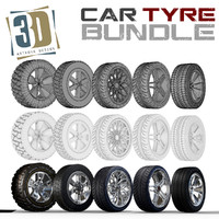 Car Tyre Bundle